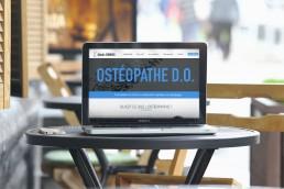visuel site maquette osteopathe