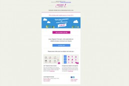 email jouer gagnant concept
